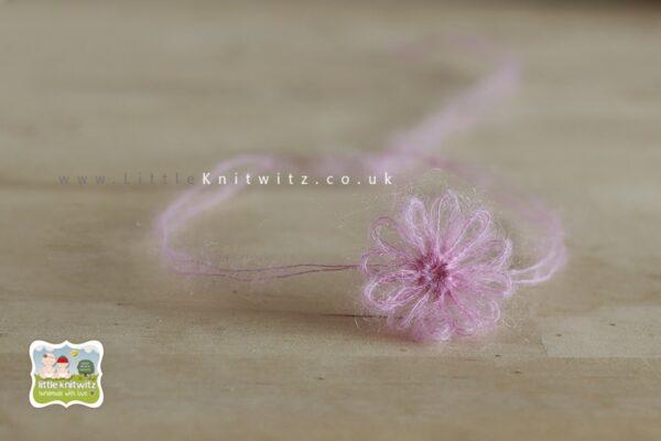 Loom Flower Headband | Pink