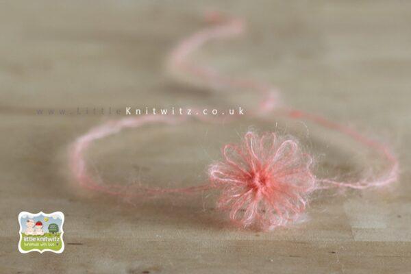 Loom Flowers | Peach