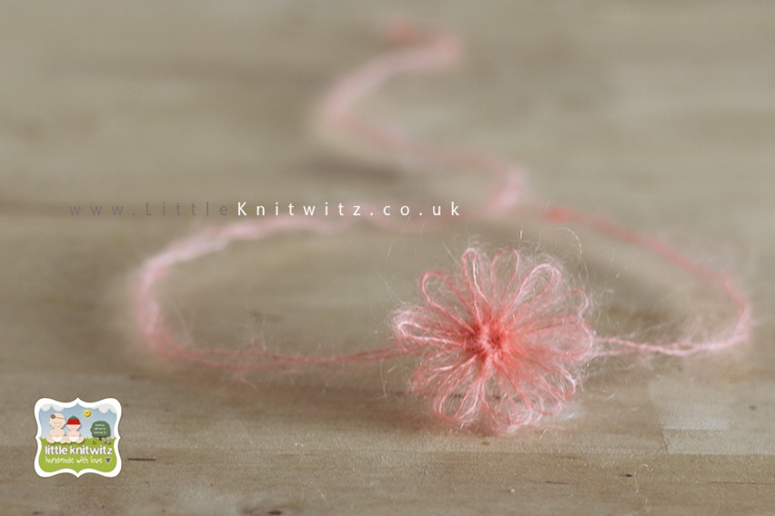 Loom Flowers   Peach