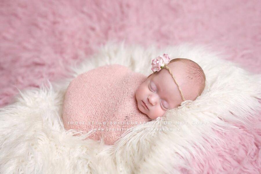 Twine Bloom Headband | Pink