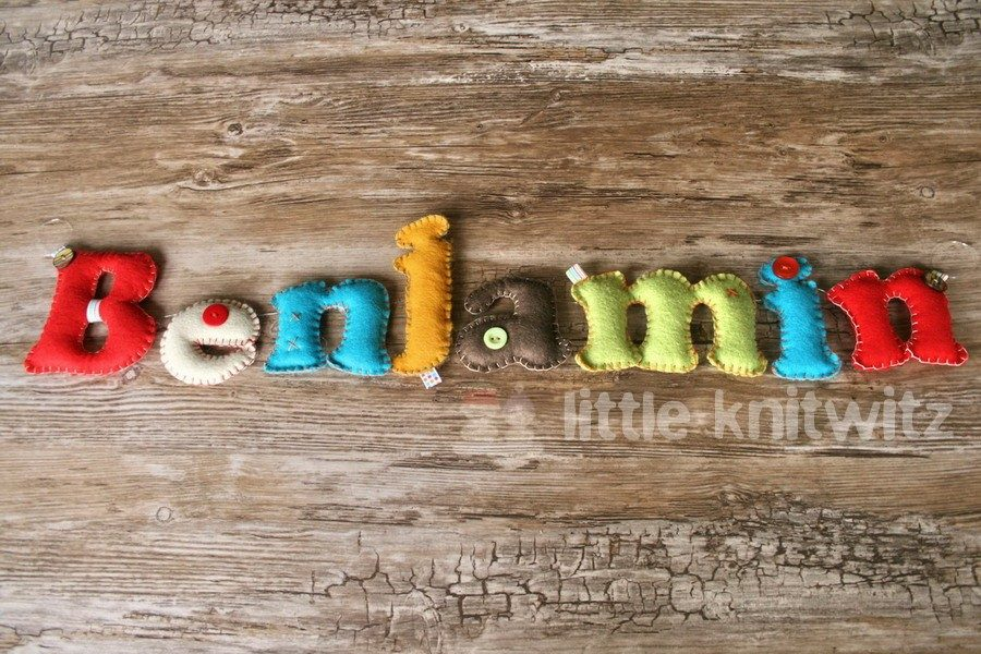 Personalised Name Banner - Baby Gift