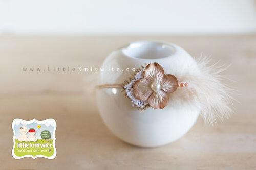 Paper & String Headband | Rice Milk