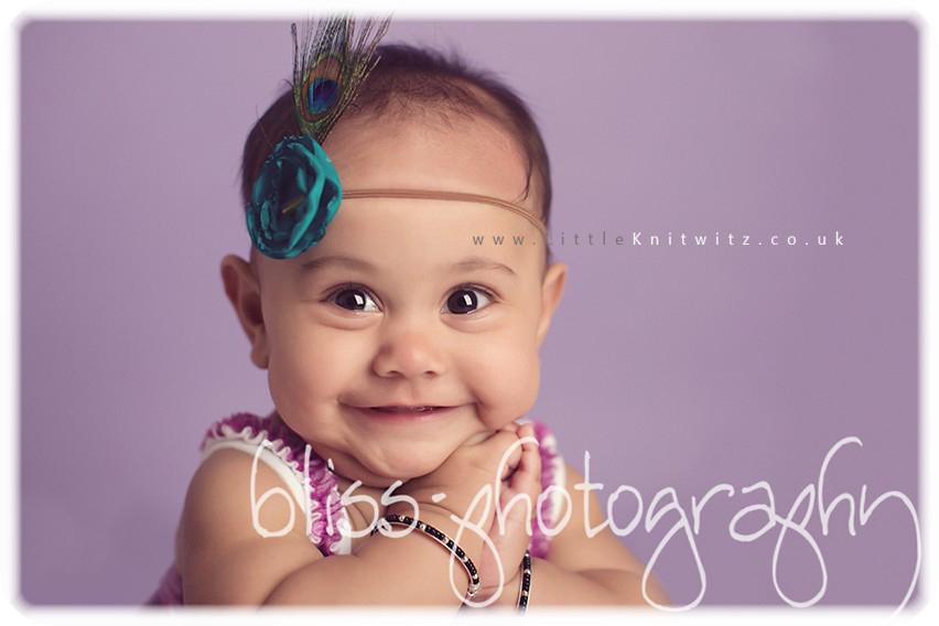 India | Baby Headband | Teal
