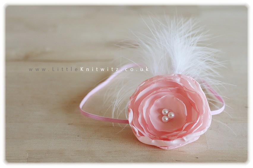 Catherine | Baby Headband | Pink