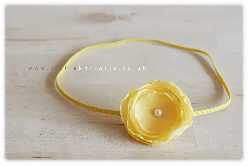 Sugar paper | Baby Headband | Yellow