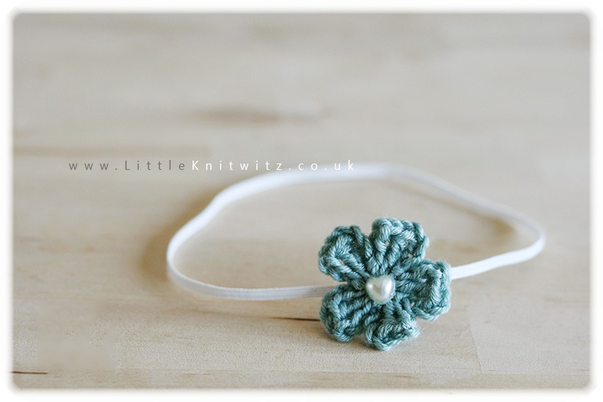 Hetty Headband | Duck Egg