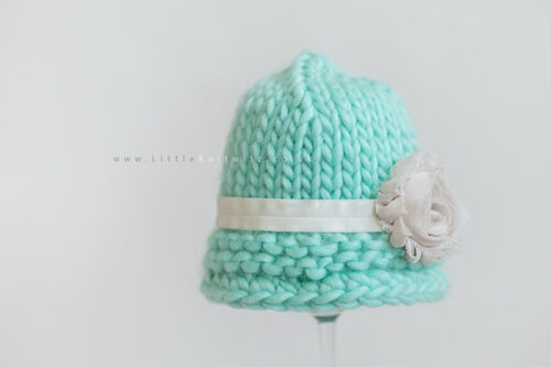 Willamina | Baby Cloche Hat - Mint