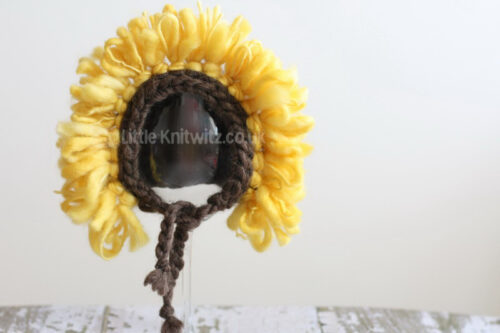 Sunflower | Baby Bonnet