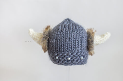 Odin | Newborn Viking Hat