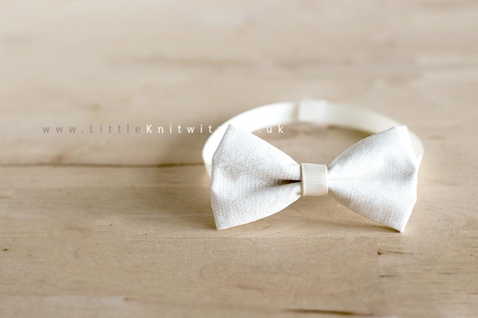 Baby Bow Tie | ivory