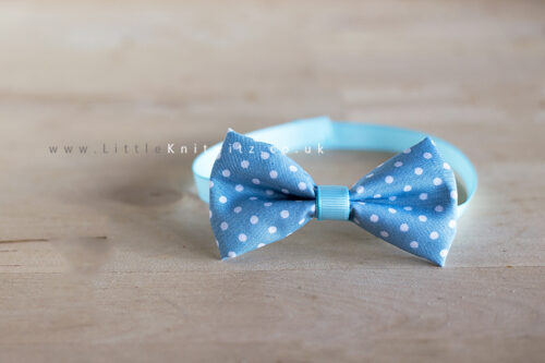 Baby Bow Tie | baby blue