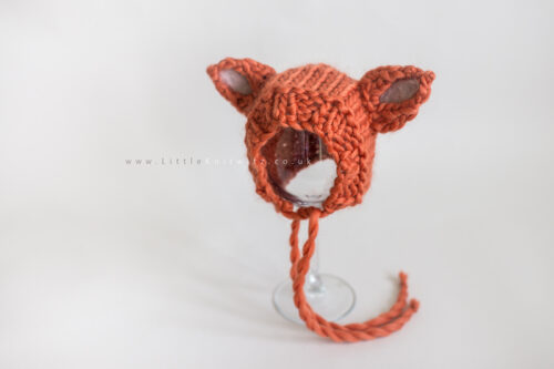 Little Red | Fox Bonnet