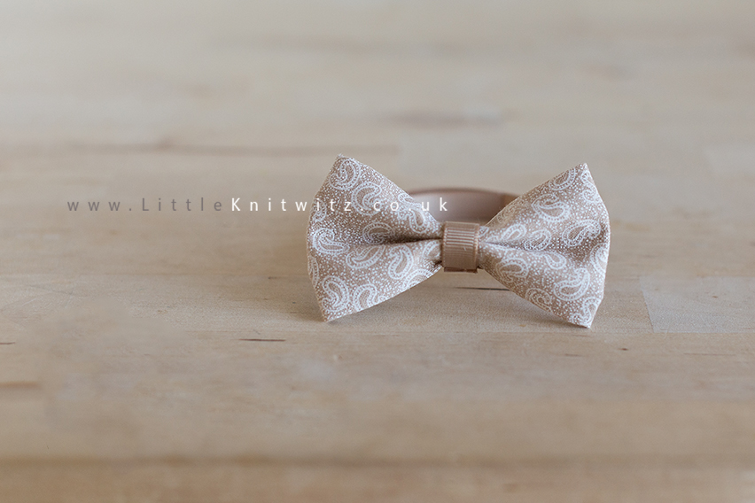 Baby Bow Tie | Latte