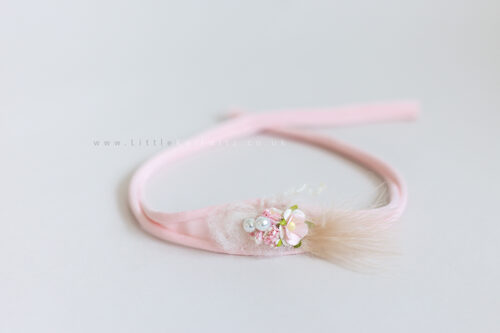 Tilly | Tie Back Headband | Pink