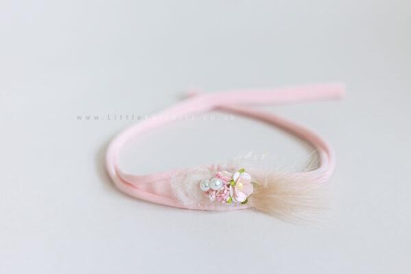 Tilly | Tie Back Headband | Pink