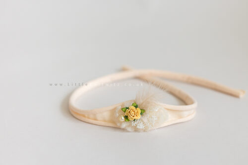 Tilly | Tie Back Headband | Peach