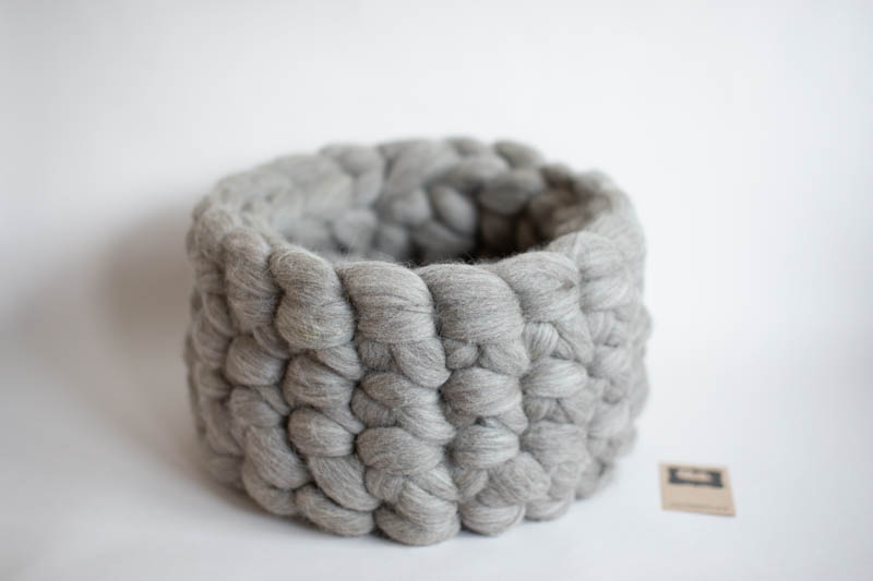 Pure wool bowl