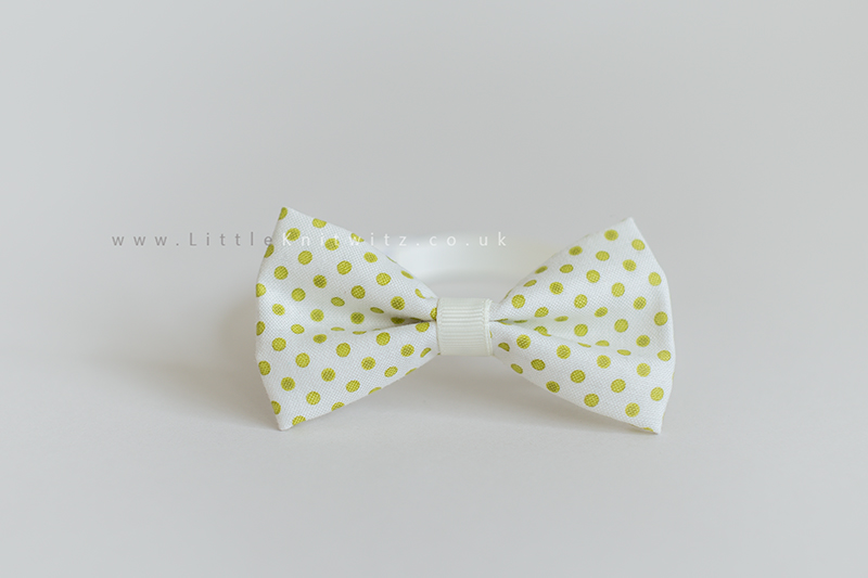 Baby Bow Tie | Green spot