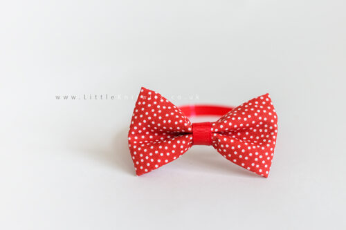 Baby Bow Tie | Red Spot