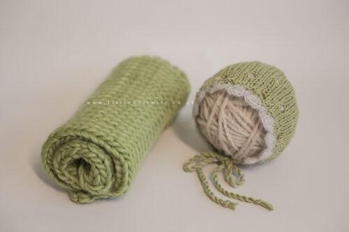 Newborn Vintage Bonnet