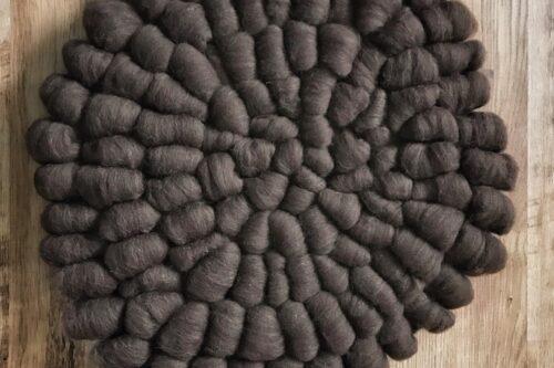 Jumbo Wool Cobble Mat Layer