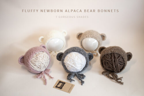 Newborn Bear Bonnets
