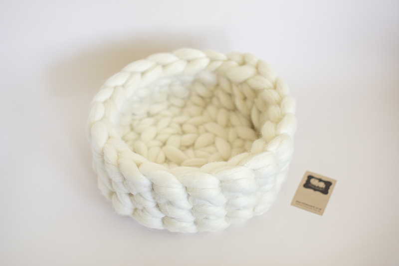 Newborn Pure Wool Posing Bowl