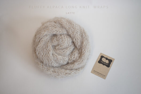 Long knit wraps