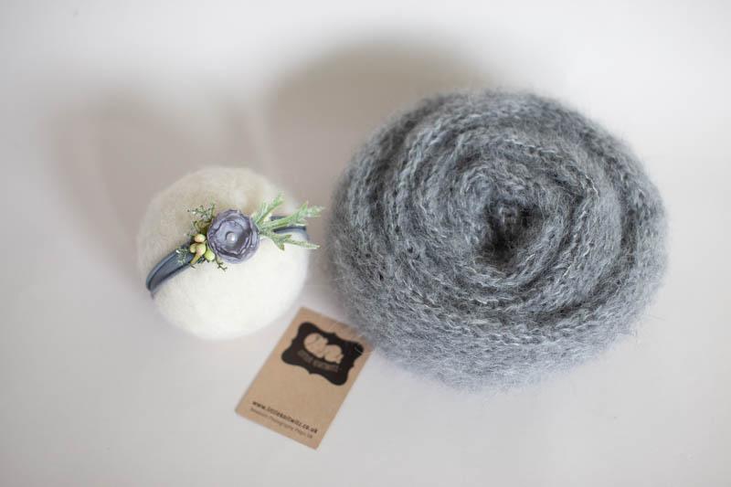 Grey headband