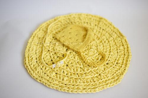 Newborn bonnet bowl liner set