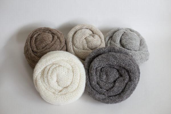 Delicate Long Knit Wraps