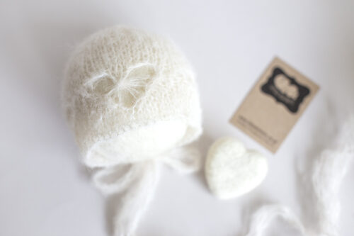 Newborn Heart Bonnet
