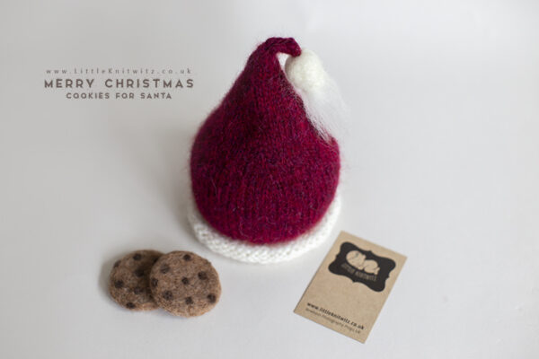 Newborn Santa hat
