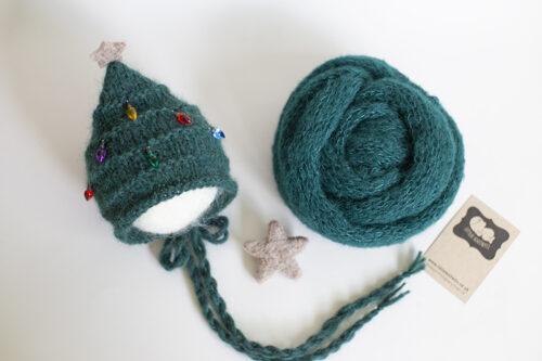 Christmas Tree Bonnet