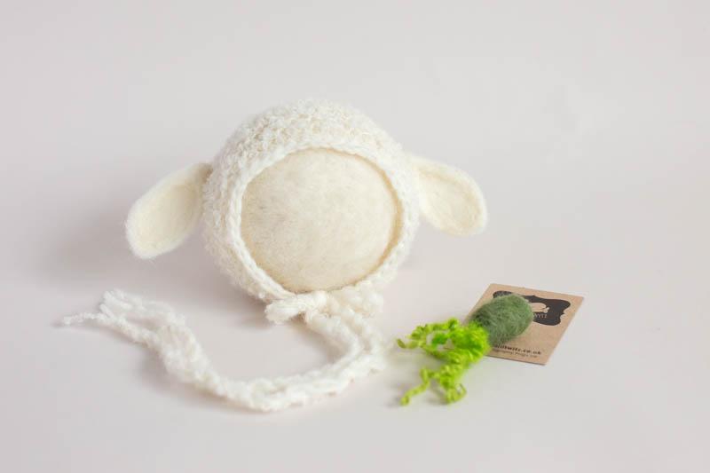 Baby Lamb Bonnet