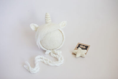 Newborn UNicorn Bonnet