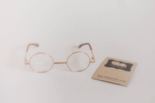 Gold framed Newborn Glasses