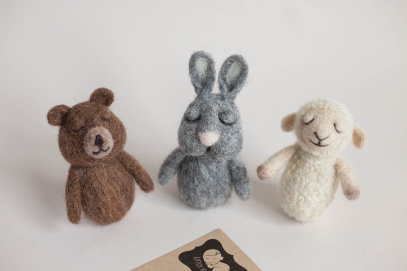 Hand felted Animals