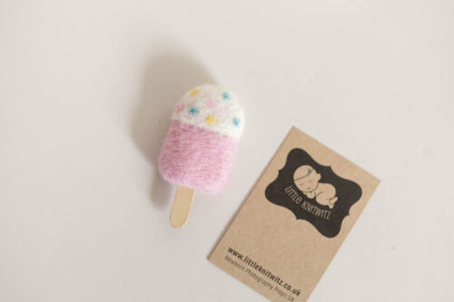 felted ice lolly