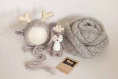 Newborn Reindeer Bonnet