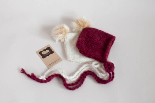 Newborn Christmas Bonnet